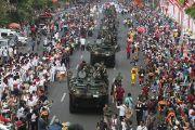 Ribuan Elemen Meriahkan Parade Surabaya Juang