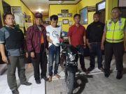Curi Motor Tetangga Disimpan di Rumah, Ketahuan Polisi Diciduk