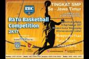 Ikuti Kompetisi Bola Basket RBC 2017 Tingkat SMP-MTs se Jatim