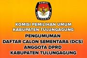 Pengumuman DCS Anggota DPRD Kabupaten Tulungagung