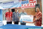 BRI Kanca Tulungagung Resmikan Rumah Desmigratif di Desa Betak