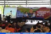 Jelang Hari Pahlawan, KPP Pratama Blitar Gelar Acara Pajak Bertutur