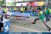 250 Atlet Ramaikan Turnamen Tenis Meja Piala Dandim 0806 Cup Se-Jatim
