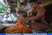 Cuaca Pengaruhi Harga Pangan Melonjak di Pasar Tradisional