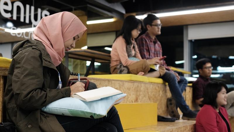 komunitas belajar finansial