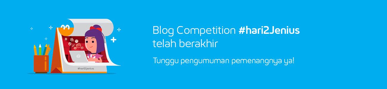 Blog Competition telah berakhir