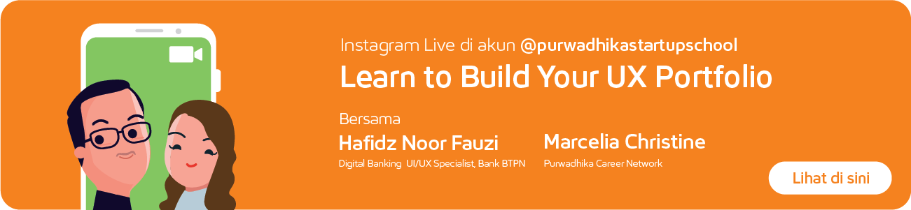 IG Live : Learn to Build Your UX Portfolio