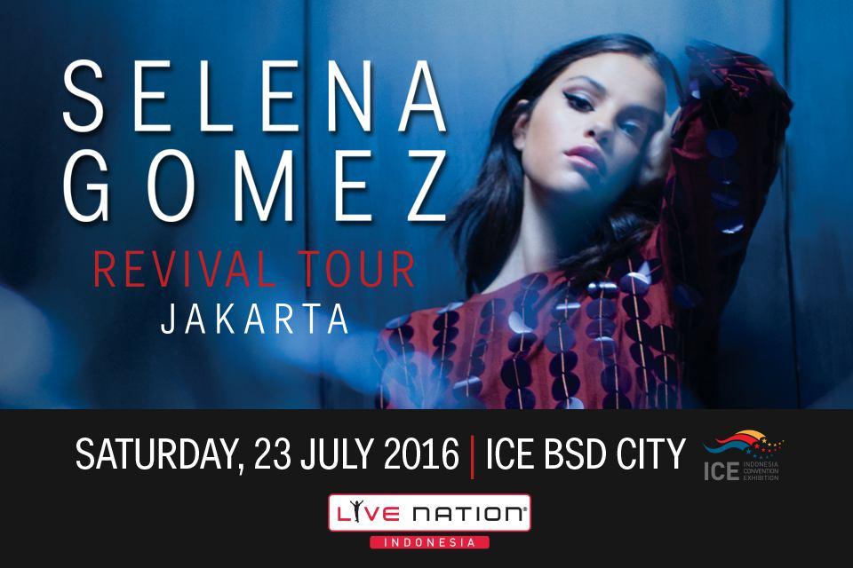 Selena Gomez Jakarta