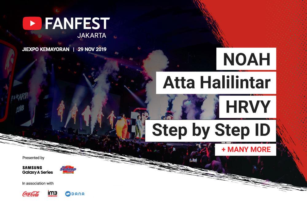 YouTube FanFest Jakarta 2019