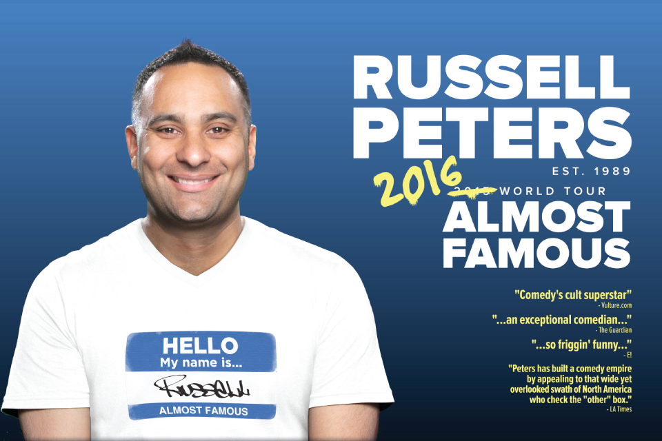 Russell Peters Jakarta