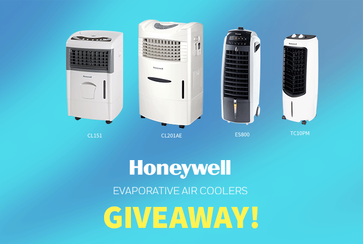 GIVEAWAY! - Honeywell Air Cooler Launching Event Online