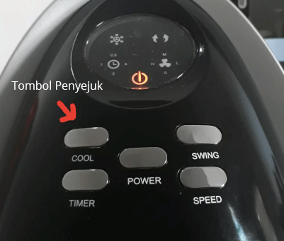 tombol penyejuk air cooler