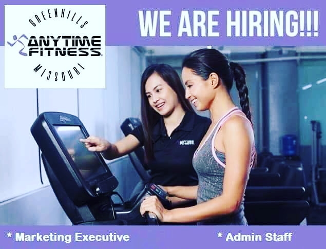 Sales And Marketing Executive from Anytime Fitness Greenhills