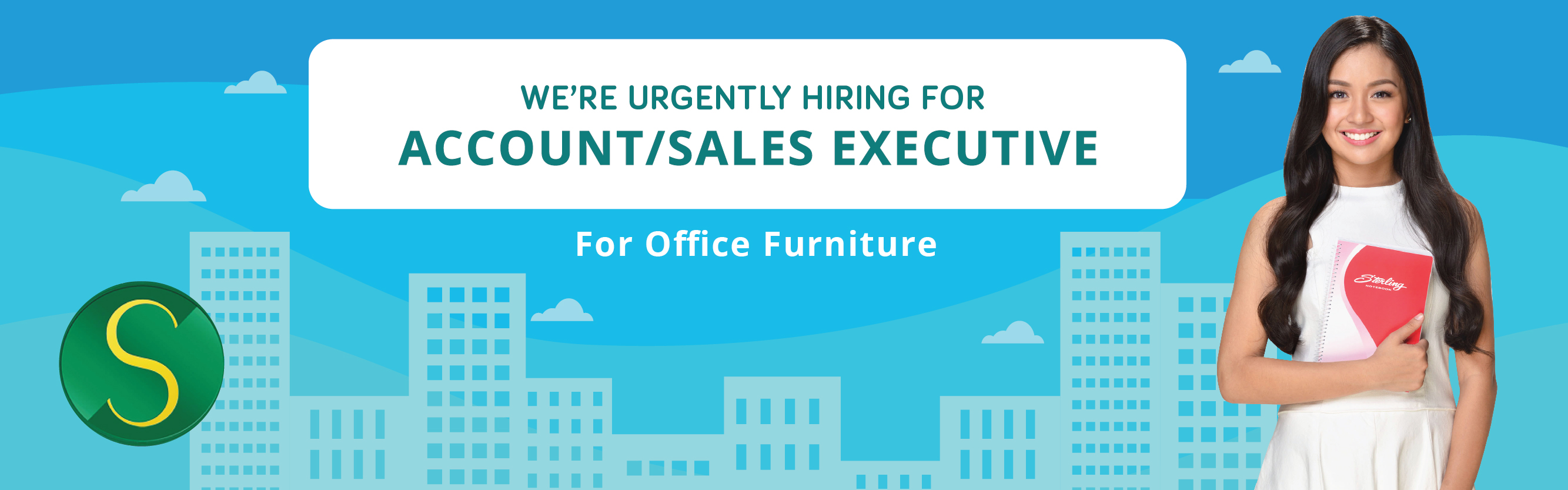 Sales Executive (office Furniture) from Sterling Paper Group of Companies