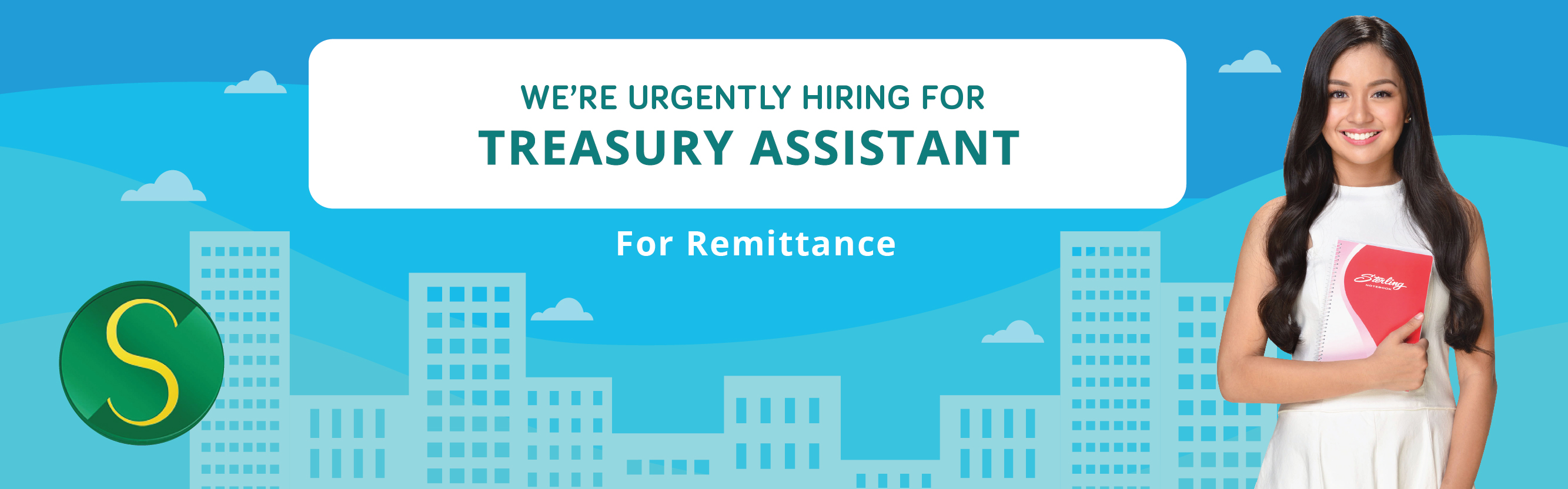 Treasury Assistant - Remittance from Sterling Paper Group of Companies