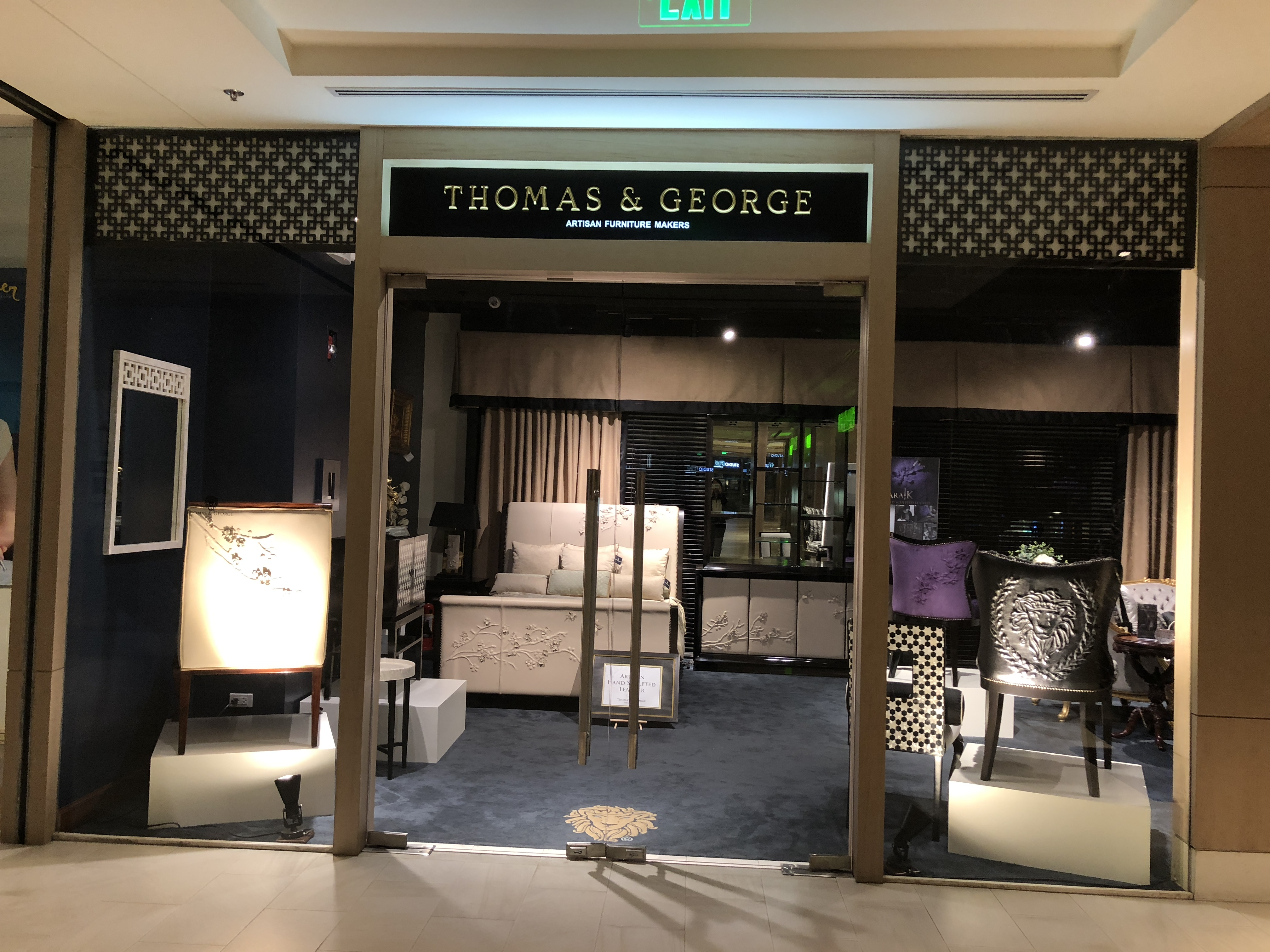 Retail Sales & Marketing from Thomas & George Fine Furniture Inc.