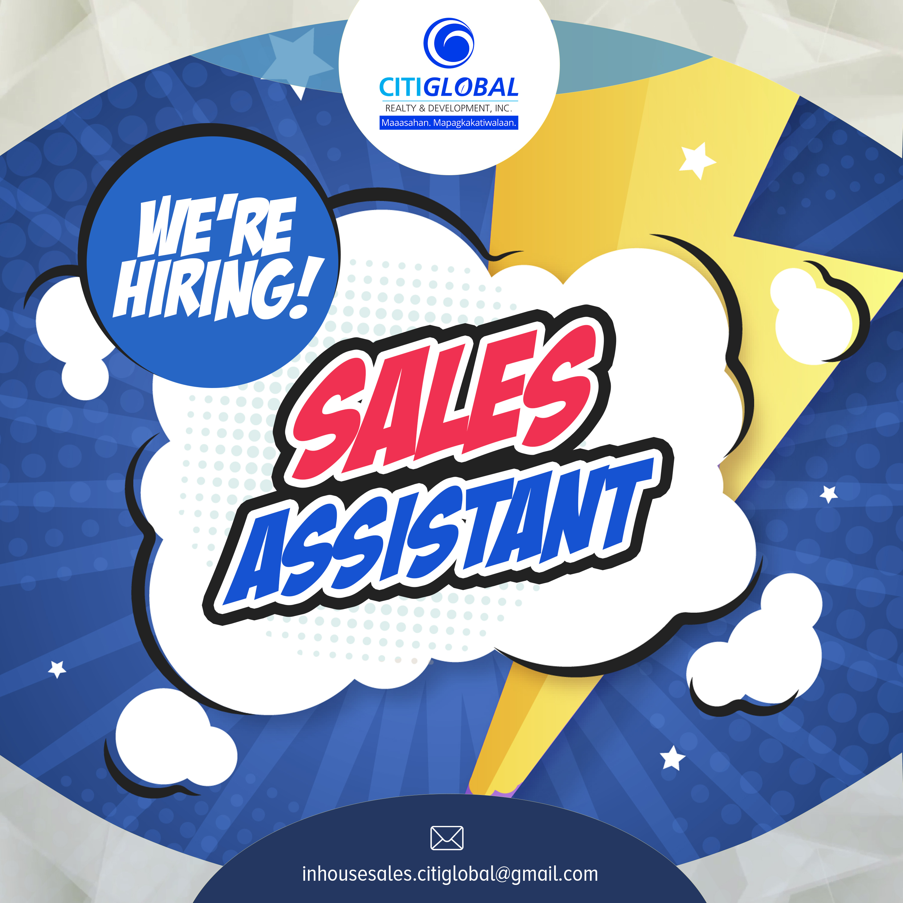 Sales Assistant from CitiGlobal Realty & Development Inc.