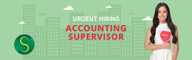 Accounting Supervisor from Sterling Paper Group of Companies