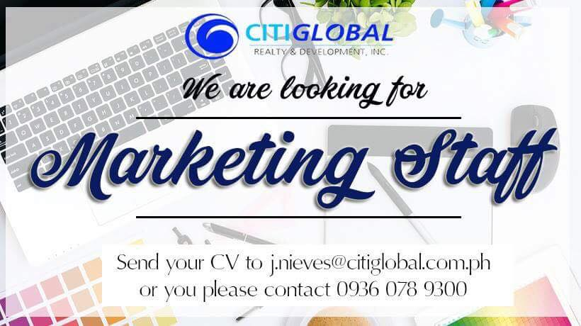 Marketing Staff from CitiGlobal Realty and Development Inc.