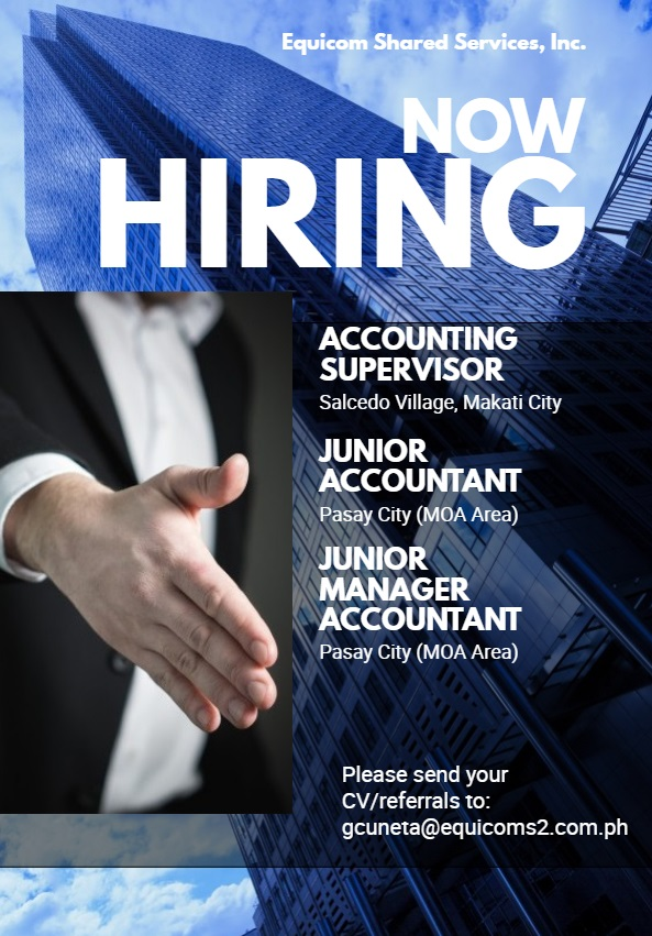 Accounting Supervisor from Equicom Shared Services, Inc.