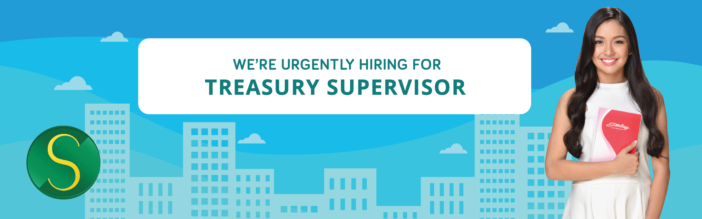 Treasury Supervisor from Sterling Paper Group of Companies