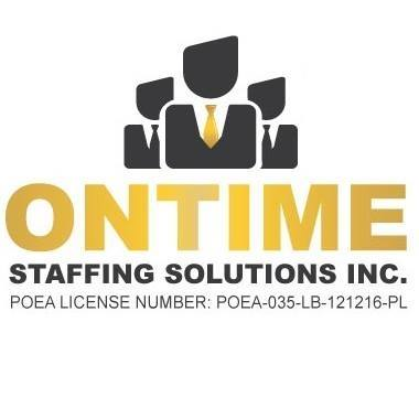 Recruitment Officer from On Time Staffing Solutions Inc.