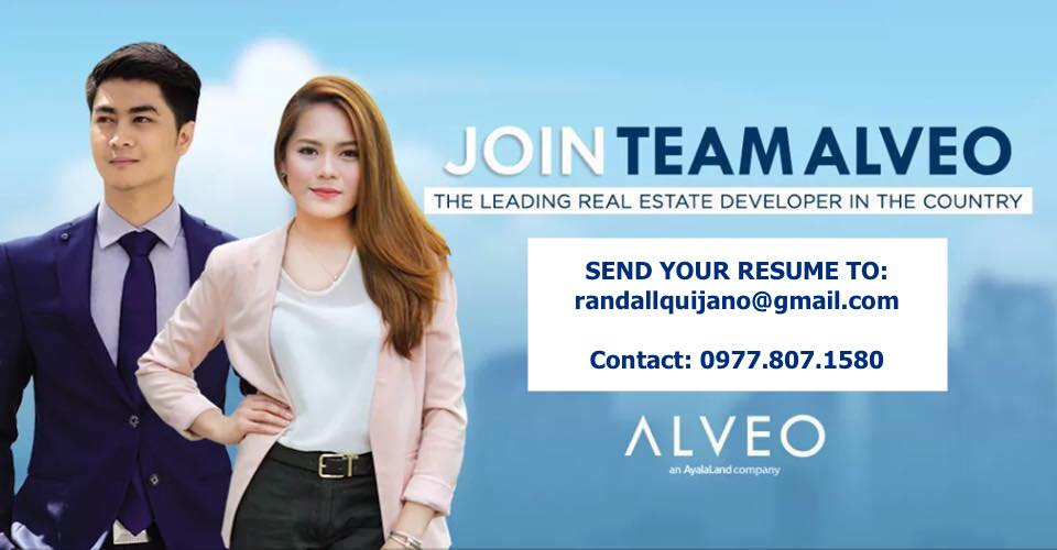 Property Investment Consultant | Property Specialist | Real Estate Sales from Alveo Land Corp | Ayala Land Inc.