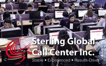 Sterling Global Call Center From Ortigas Is Looking For A