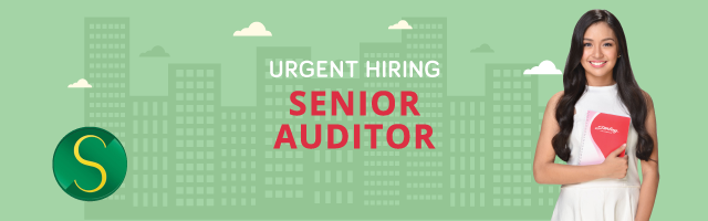 Senior Auditor from Sterling Paper Group of Companies