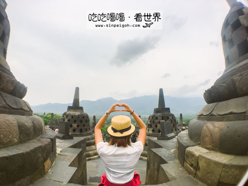 吃吃喝喝看世界 日惹遊記 婆羅浮屠Borobudur
