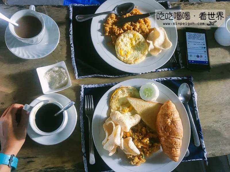 龙目岛早餐