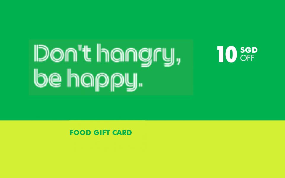 Win a $10 GrabGift Food Voucher
