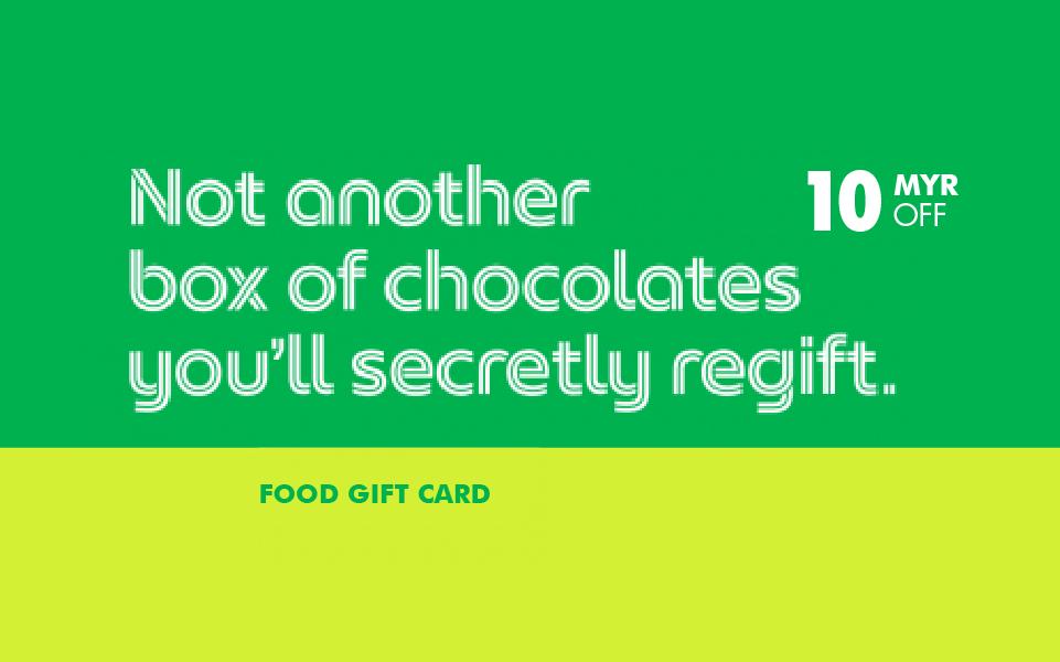 Win a RM10 GrabGift Food Voucher