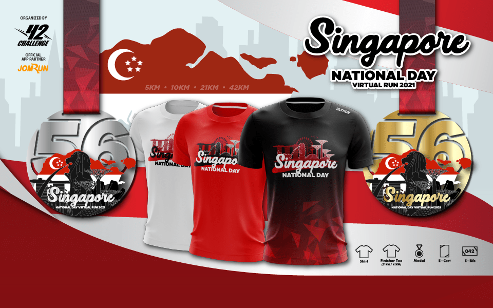 Singapore National Day Virtual Run 2021