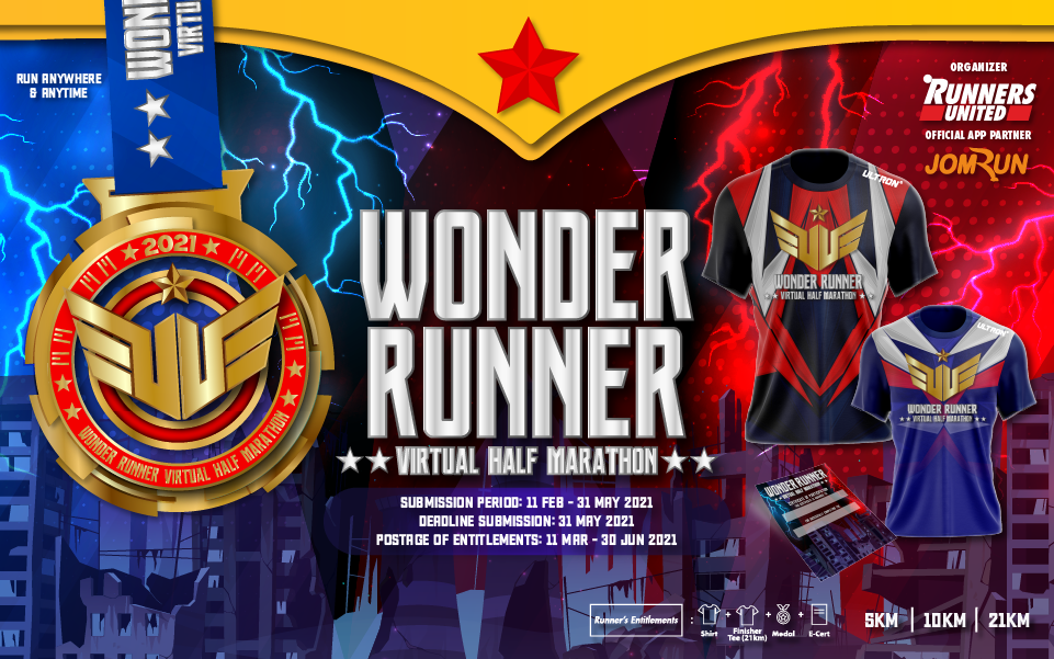 Wonder Runner Virtual Half Marathon