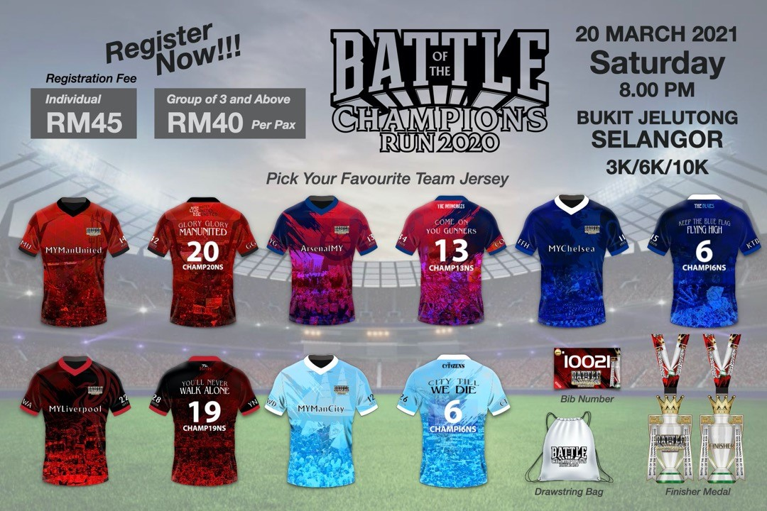 Battle Of The Champions Run 2020