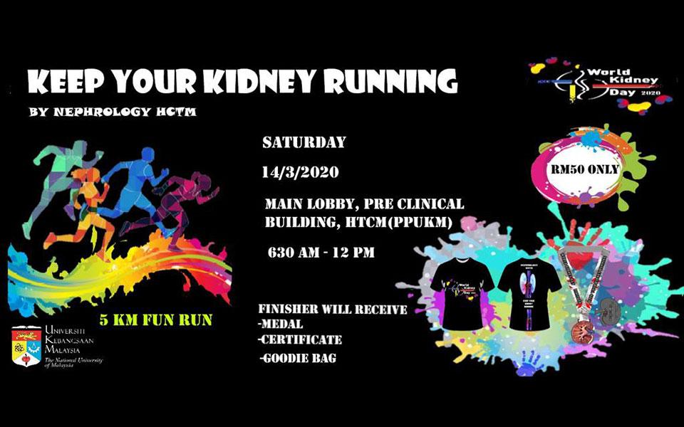 KEEP YOUR KIDNEY RUNNING