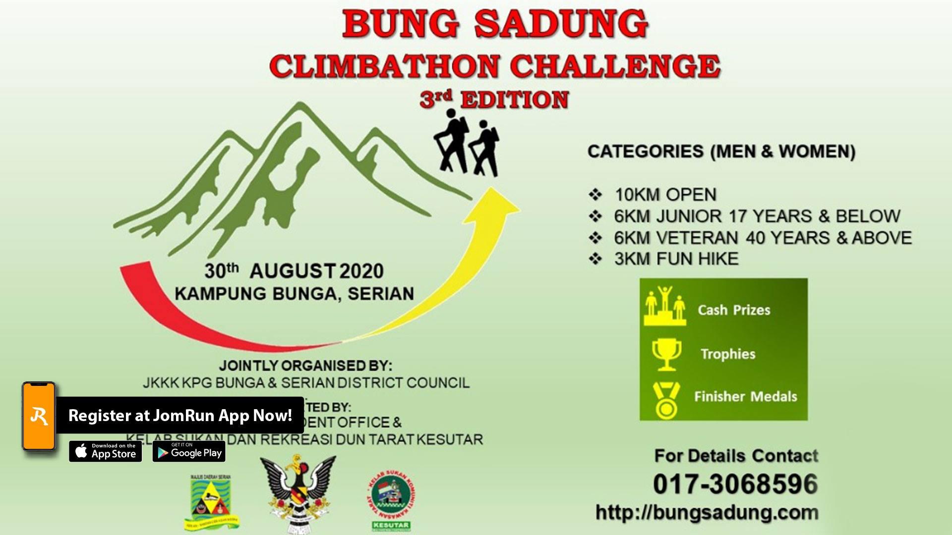Bung Sadung Climbathon Challenge 2020