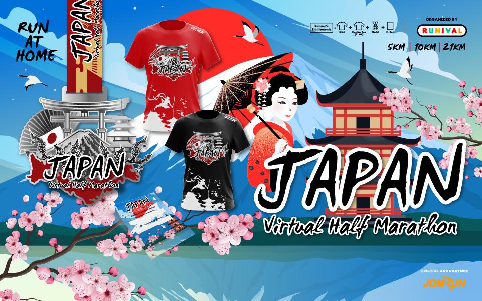 Japan Virtual Half Marathon
