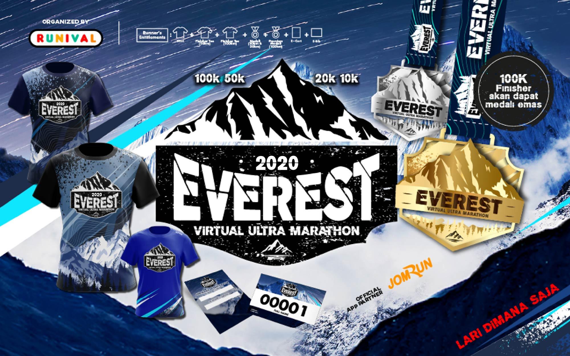 Everest Virtual Ultra Marathon - Indonesia