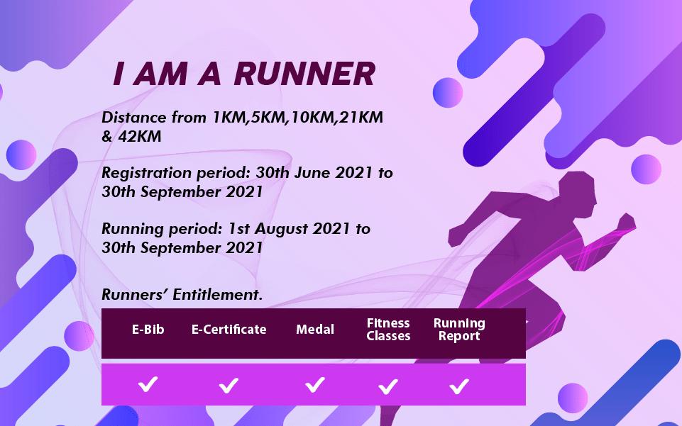I Am A Runner Virtual Run