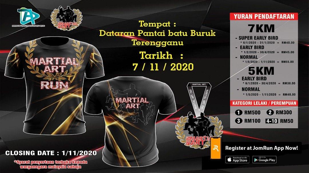 Terengganu Martial Art Run