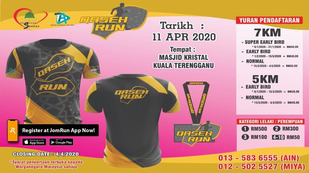 TERENGGANU QASEH RUN TOUR 2020