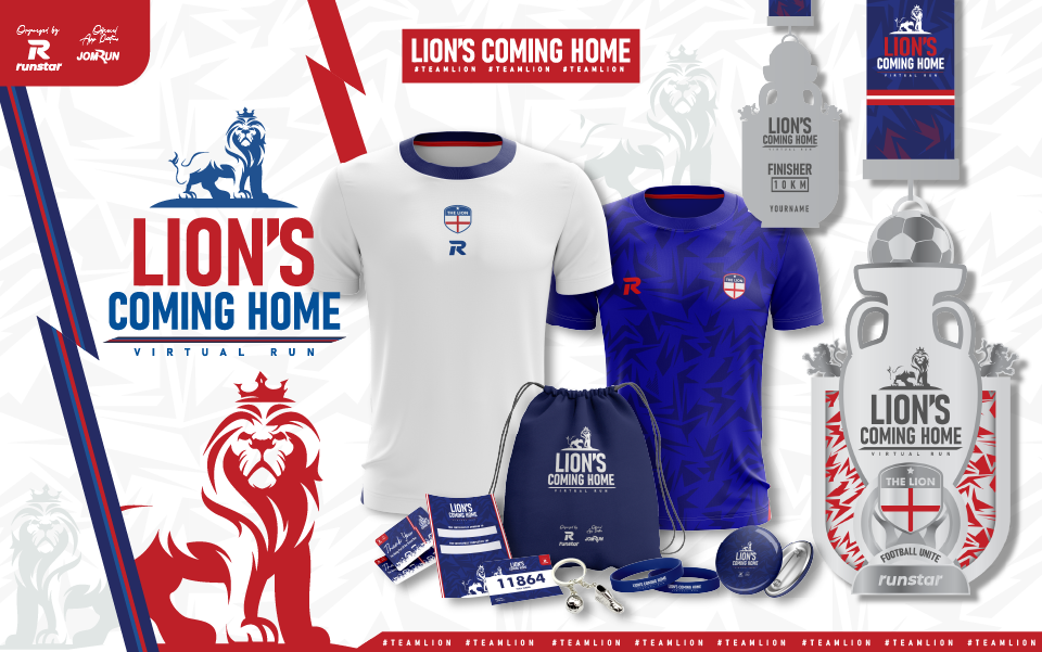 Lion's Coming Home 10KM Virtual Run