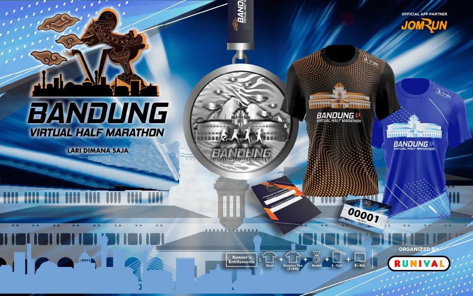 Bandung Virtual Half Marathon - Indonesia