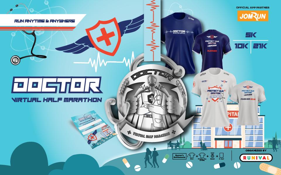 Doctor Virtual Half Marathon