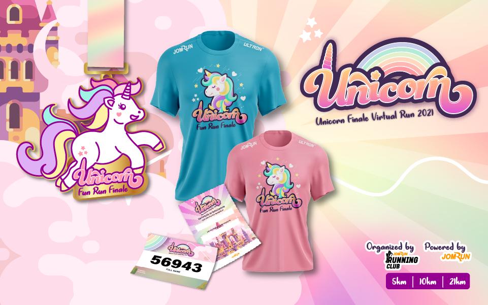 Unicorn Finale Virtual Run 2021 - Indonesia