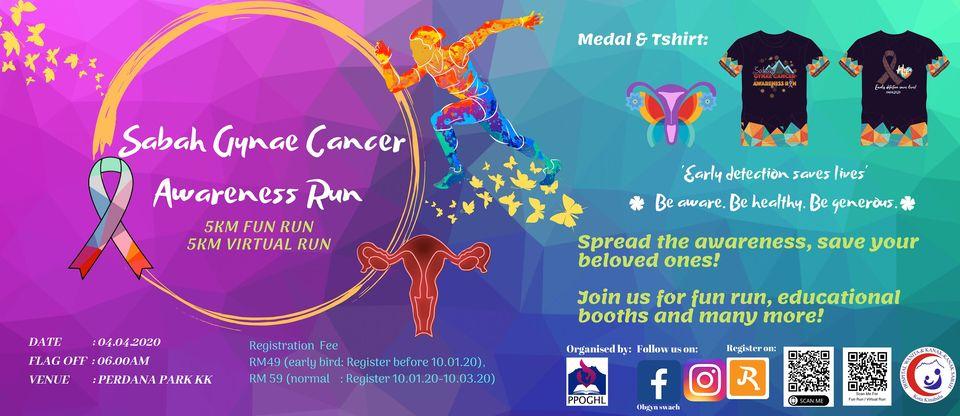 Gynae Cancer Awareness Run