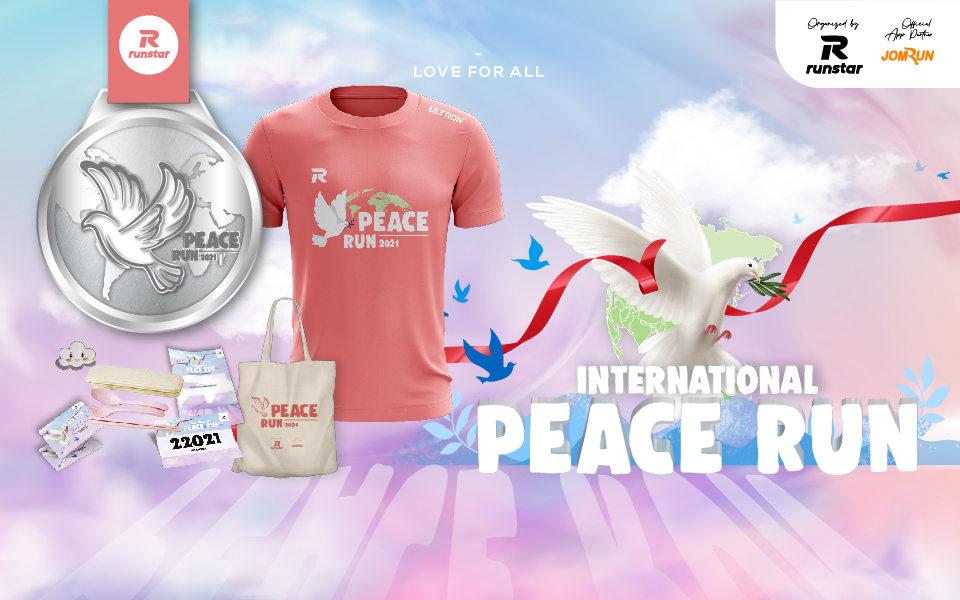 5KM International Peace Run 2021 - Indonesia
