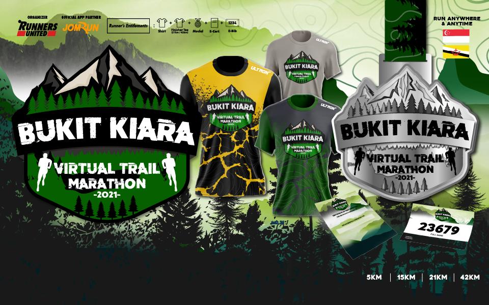 Bukit Kiara Virtual Trail Marathon - SG/BR